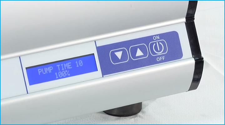 Hệ thống điều khiển hiện đại của máy hút chân không Sirman W8 30 Easy DX