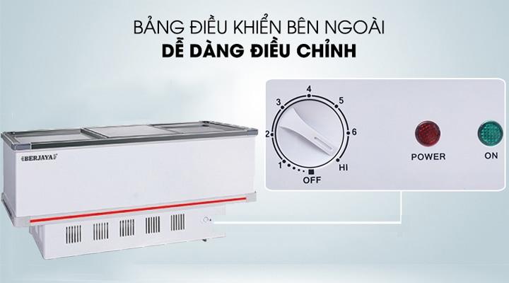 Bảng điều khiển của tủ đông Berjaya BJY-IFGD718
