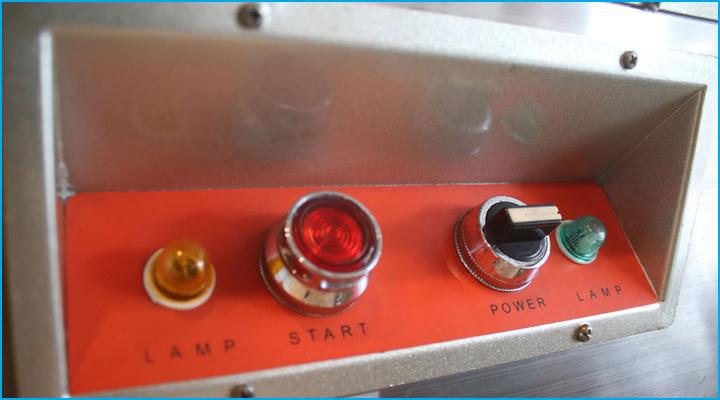 Máy chia bột Berjaya BJY-DD120 có bảng điều khiển đơn giản dễ sử dụng