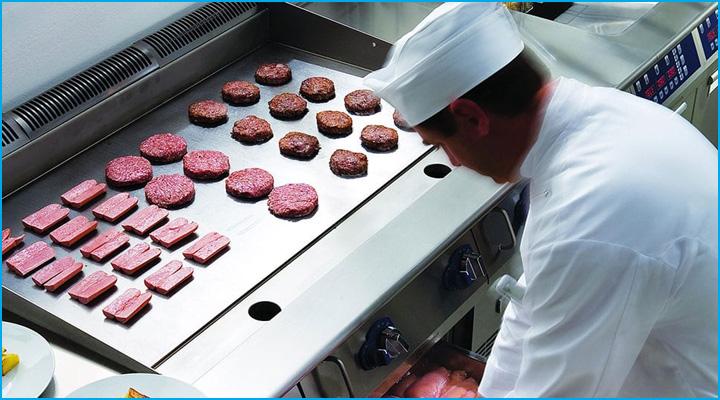 Bề mặt bếp bằng inox cao cấp, đảm bảo an toàn vệ sinh thực phẩm