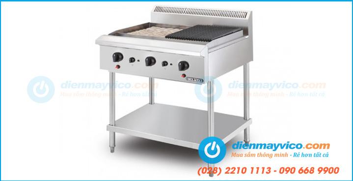 Bếp nướng than đá nhân tạo Berjaya CRB3BFS-17