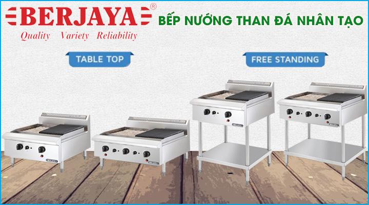 Bếp nướng than đá nhân tạo Berjaya