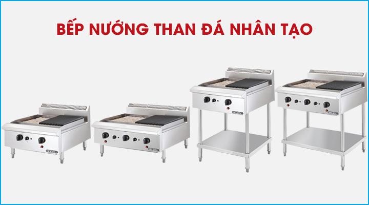 Các mẫu bếp nướng than đá nhân tạo