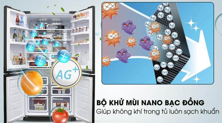 Bộ lọc khử mùi kháng khuẩn Nano Bạc Đồng hiện đại và an toàn