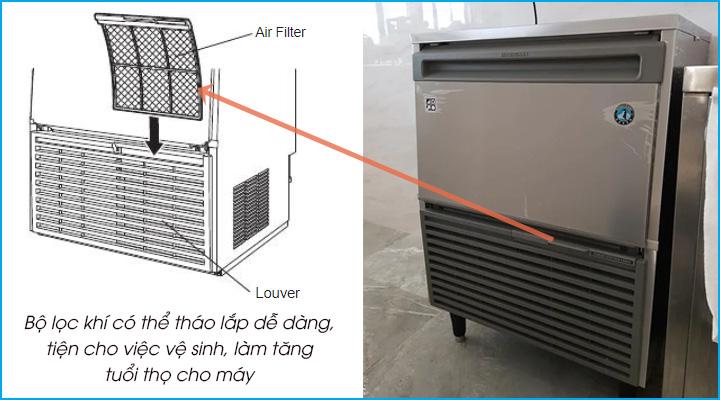 Bộ lọc khí ngưng tụ có thể tháo lắp dễ dàng