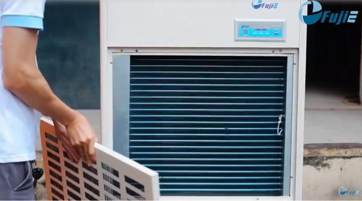 Máy hút ẩm Fujie HM-1800DS trang bị bộ lọc giúp loại bỏ bụi bẩn và chất gây ô nhiễm