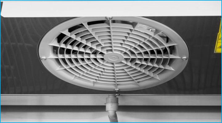 Bộ phận quạt gió của tủ mát Turbo Air KR25-2