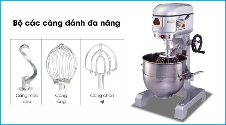 Bộ càng đánh chuyên dụng cho máy trộn bột Jendah PM40