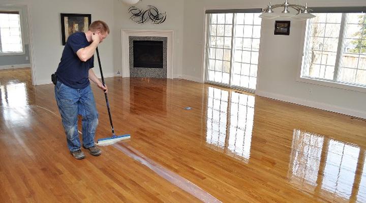 Cách đánh bóng sàn gỗ