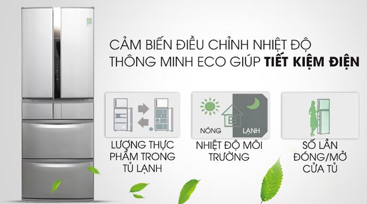 Cảm biến Eco tự điều chỉnh nhiệt độ phù hợp, tiết kiệm điện năng