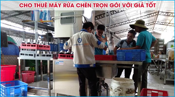 Cho thuê máy rửa chén trọn gói với giá tốt