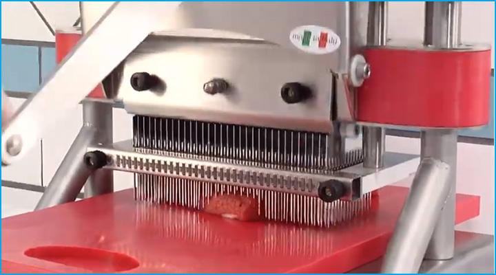 Cơ chế hoạt động của máy làm mềm thịt Sirman T-Rex