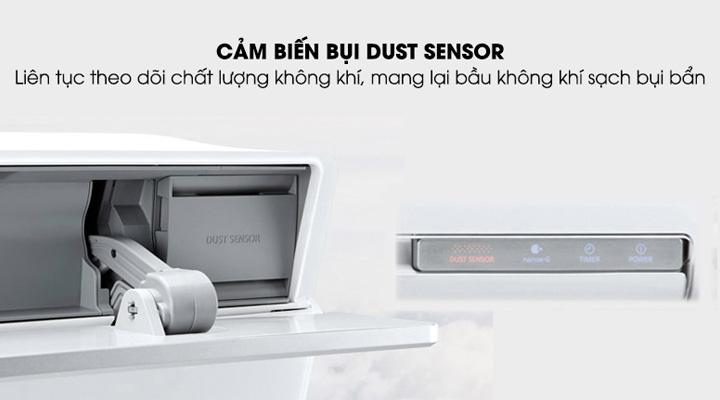Công nghệ Dust Sensor cảm biến bụi bẩn