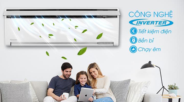 Công nghệ Inverter cho máy lạnh hoạt động êm và tiết kiệm điện năng