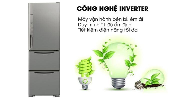 Công nghệ Inverter cho máy vận hành êm và tiết kiệm điện năng