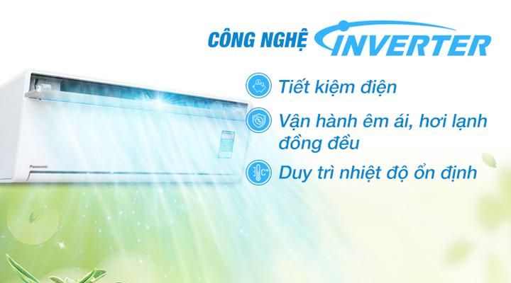 Công nghệ J-Tech Inverter tiết kiệm điện và vận hành êm ái