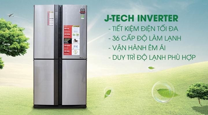 Công nghệ J-Tech Inverter tiết kiệm điện năng tối đa