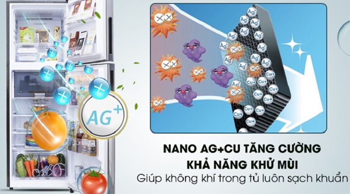 Bộ lọc Nano Bạc Đồng lọc sạch không khí và khử mùi hôi hiệu quả