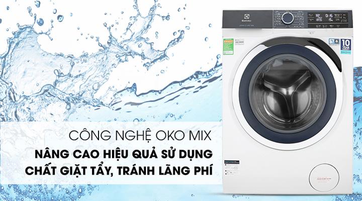 Máy giặt Electrolux EWF9523BDWA trang bị công nghệ OKO Mix nâng cao hiệu quả giặt