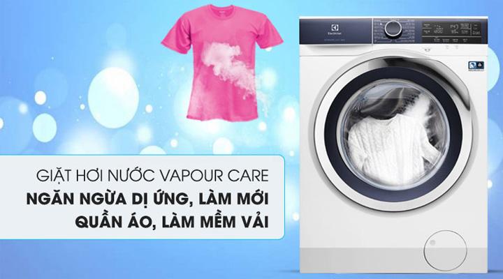 Máy giặt Electrolux EWF9023BDWA trang bị công nghệ giặt hơi nước VapourCare
