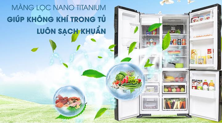 Màng lọc Nano Titanium diệt sạch vi khuẩn, nấm mốc và khử mùi
