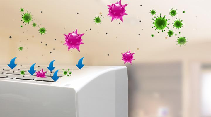 Hệ thống kháng khuẩn khử mùi an toàn