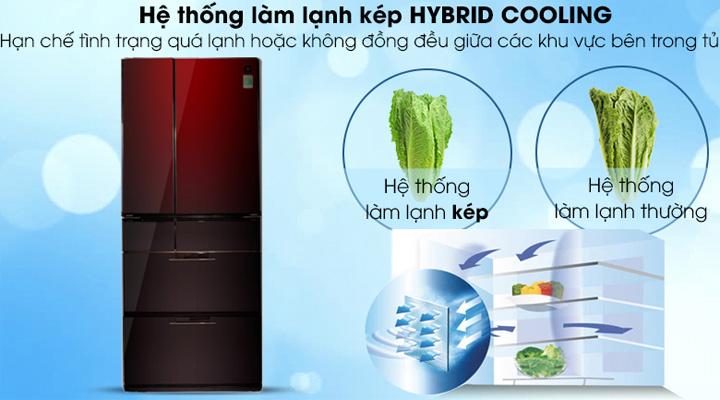 Hệ thống làm lạnh kép hiện đại cho hiệu quả làm lạnh tối ưu