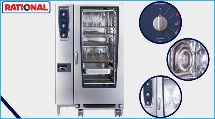 Công nghệ nướng hấp hiện đại của lò Rational CMP 202