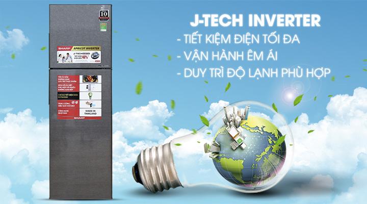 Công nghệ Inverter tiết kiệm điện năng và cho máy vận hành êm