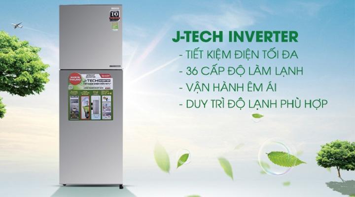 Công nghệ tiết kiệm điện J-Tech Inverter hiện đại