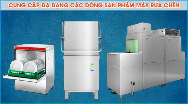 Cung cấp đa dạng các dòng máy rửa chén