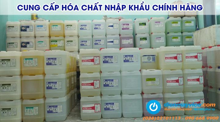 Cung cấp hóa chất công nghiệp nhập khẩu từ thương hiệu nổi tiếng