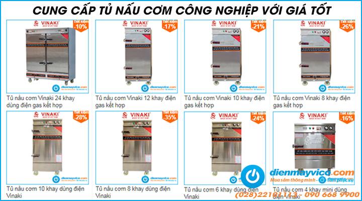 Điện Máy Vi Co chuyên cung cấp tủ nấu cơm công nghiệp chất lượng, đa dạng mẫu mã, chủng loại