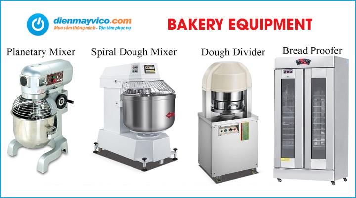 Điện Máy Vi Co chuyên cung cấp các thiết bị ngành bánh