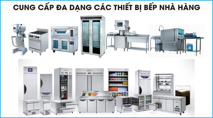 Điện Máy Vi Co cung cấp đa dạng các thiết bị bếp công nghiệp nhà hàng