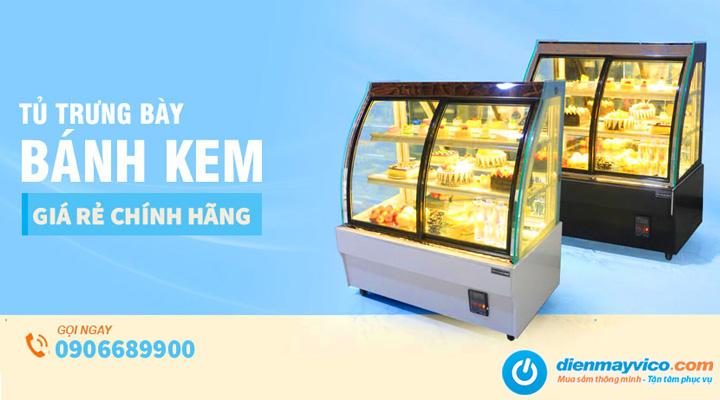 Điện Máy Vi Co chuyên cung cấp tủ bánh kem và các thiết bị điện lạnh