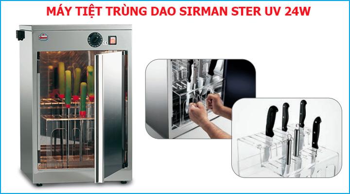 Giá đỡ dao của máy tiệt trùng Sirman Ster UV 24W