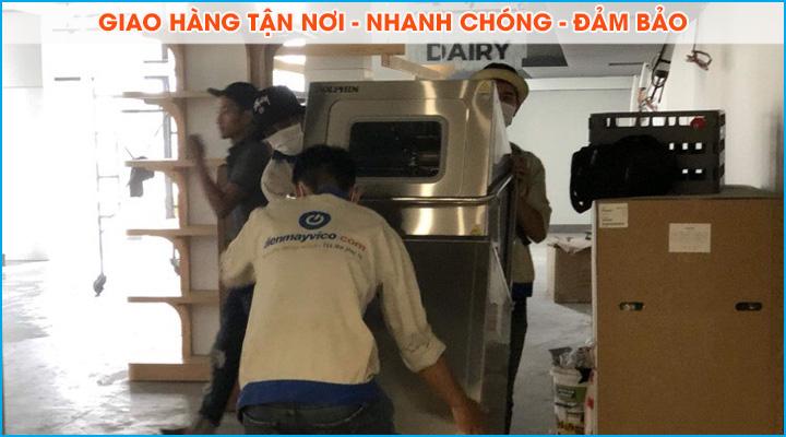 Giao thiết bị máy rửa chén tận nơi - nhanh chóng - đảm bảo