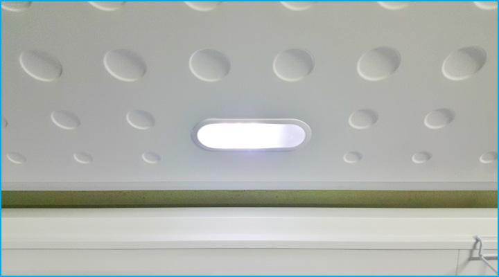 Đèn chiếu sáng bên trong tủ
