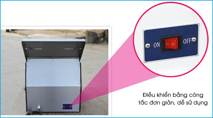 Hệ thống điều khiển máy cắt bánh mì HX-31 đơn giản dễ sử dụng
