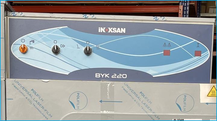Hệ thống điều khiển của máy rửa chén Inoksan dễ sử dụng