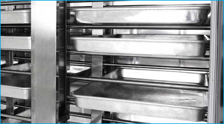 Cấu taaoj nội ngoại thất của tủ ủ bột SH-36 bằng thép không gỉ có độ bền cao