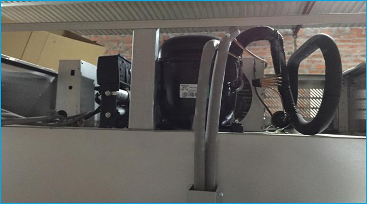 Hệ thống làm lạnh hiện đại của tủ đông Turbo Air KF45-4 cho khả năng làm lạnh nhanh sâu