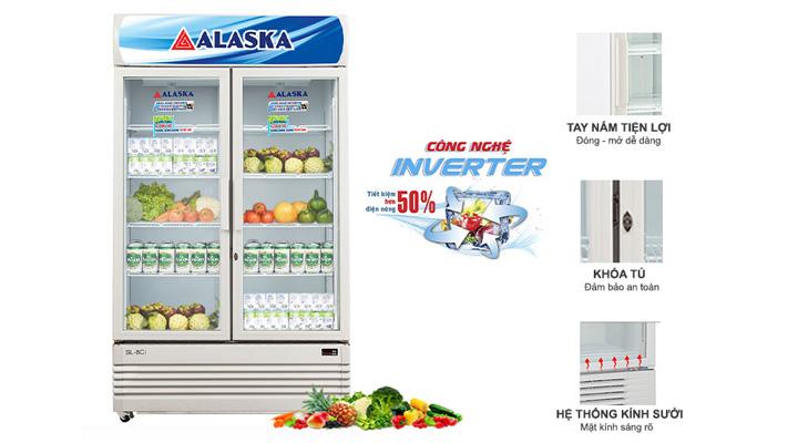 Hệ thống làm lạnh của tủ mát Alaska SL-8CI