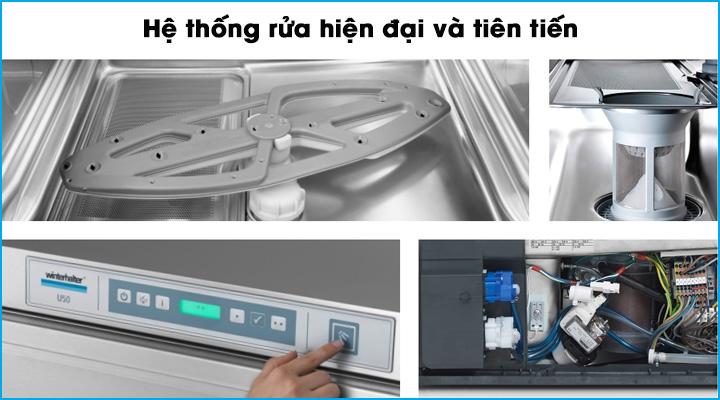 Hệ thống rửa ly chén hiện đại và thông minh