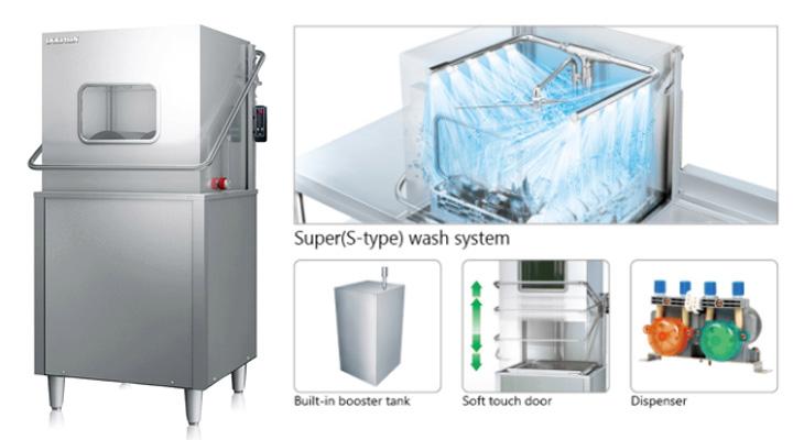 Hệ thống rửa tráng hiện đại