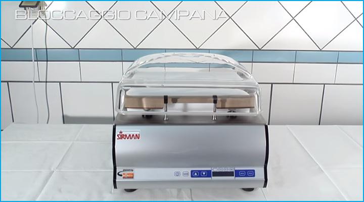 Máy hút chân không Sirman W8 30 Easy DX có thiết kế nhỏ gọn, đẹp mắt