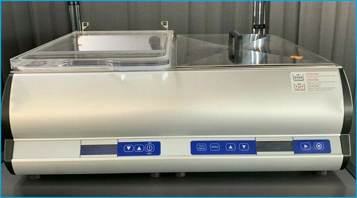 Máy Sirman EASYSOFT có thiết kế tích hợp 2 sản phẩm trong 1 - máy hút chân không và máy nấu chậm