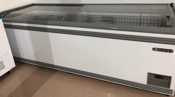 Mẫu tủ đông kính cong Berjaya BJY-IFGD-850L