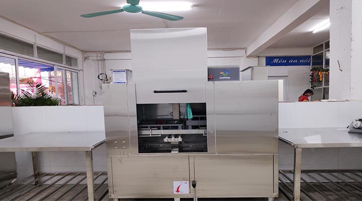 Mẫu máy rửa chén băng chuyền Dolphin DRC-1E